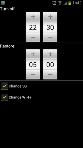 Screenshot do Connection Control